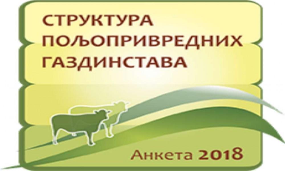 RZS počinje Anketu o poljoprivrednim gazdinstavima 1.oktobra