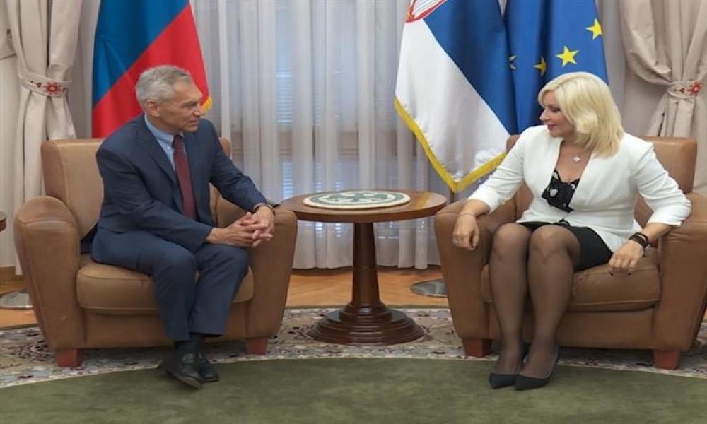 Mihajlović i Bocan-Hačenko za jaču saradnju Rusije i Srbije