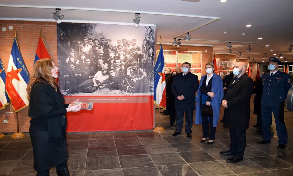 U Kragujevcu otvorena izložba Ratna slika Srbije u Drugom svetskom ratu 1941-1945
