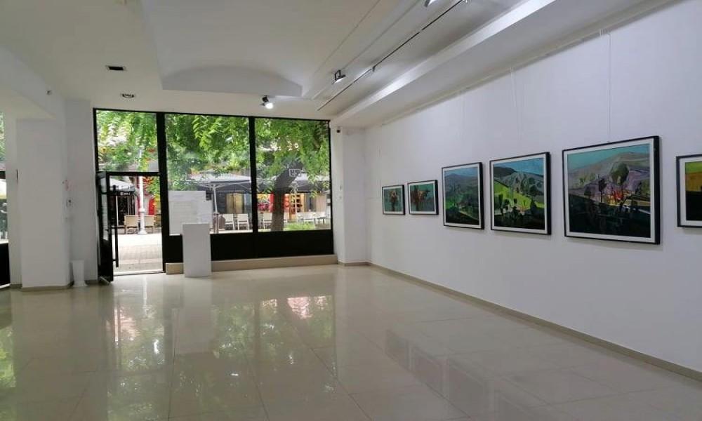 Dodir površine u Galeriji savremene umetnosti