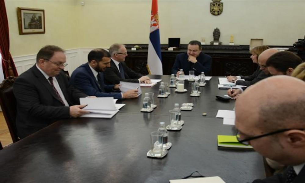 Dačić i Bratu o aktivnostima Misije OEBS na KiM