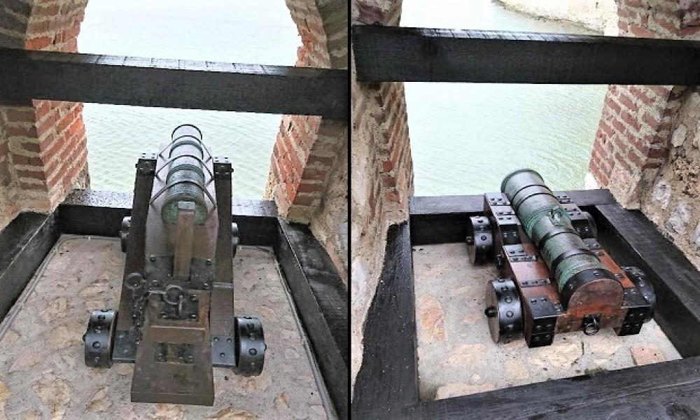 Golubačka tvrđava obogaćuje Program za posetioce postavljanjem topova I zastava u topovskoj Kuli br 9