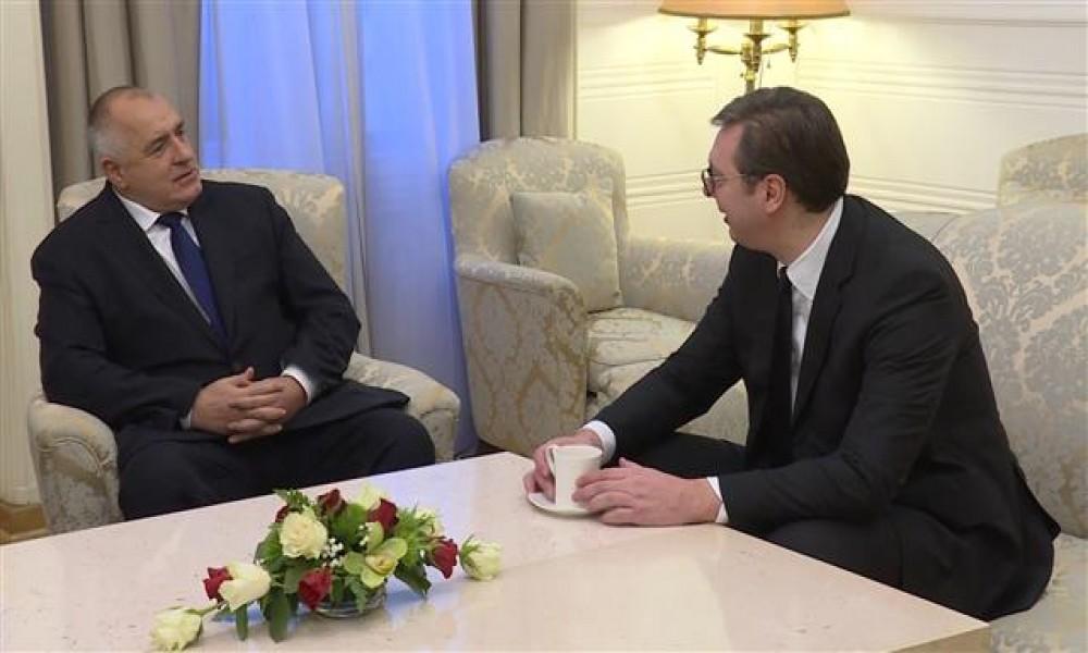 Vučić razgovarao sa Borisovim