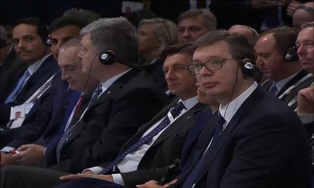 Vučić zahvalio Merkelovoj na podršci