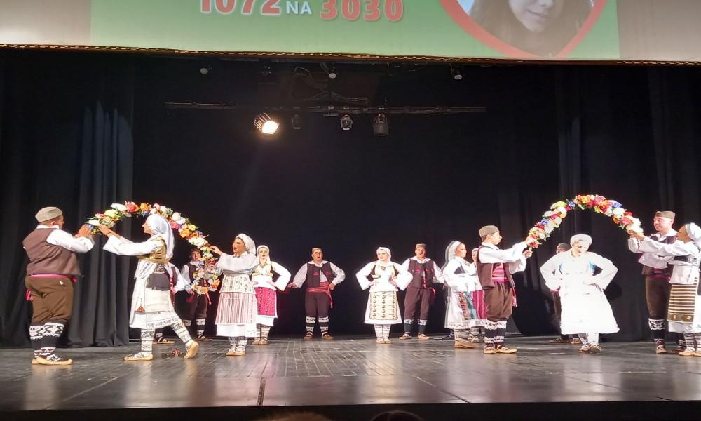 Na humanitarnom koncertu folklornih ansambala prikupljeno nešto više od 650 evra za lečenje Milice