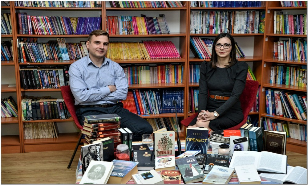 Bibliosalon na temu  Zarasla butna kost u Biblioteci Nikola  Sikimić Maksim u Kučevu