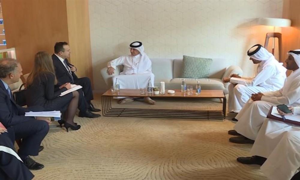Dačić s ministrom spoljnih poslova Katara