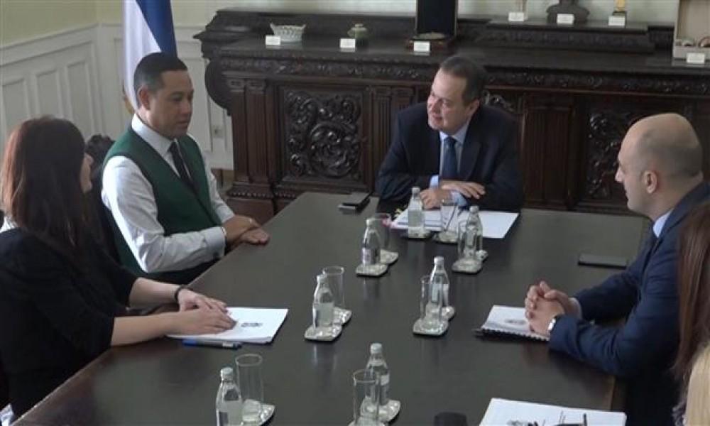 Ministar Dačić razgovarao sa počasnim konzulom Srbije na Madagaskaru