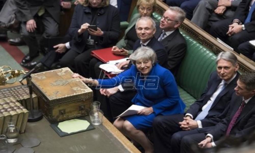 Britanski parlament 29. januara opet glasa o Bregzitu