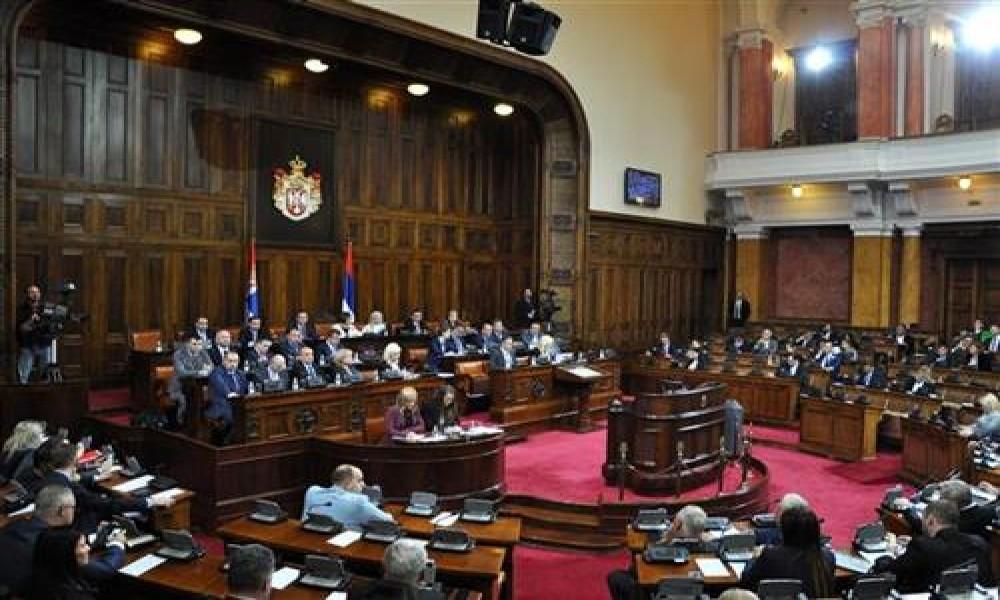 Rasprava u Skupštini o ukidanju zakona o smanjenju penzija