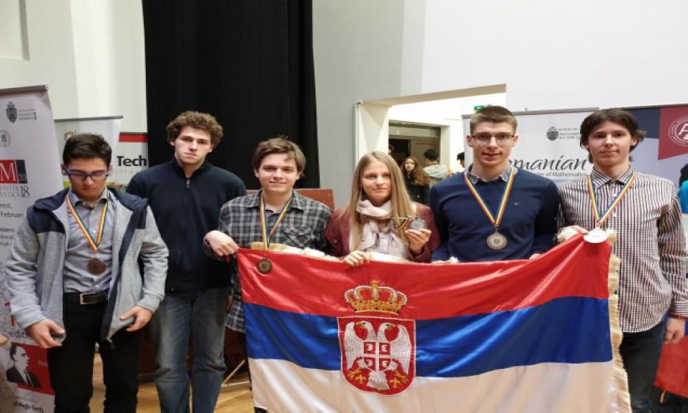 Mladi matematičari osvojili pet medalja u Bukureštu