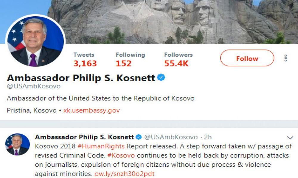 Američki ambasador u Prištini o stagniranju Prištine zbog korupcije