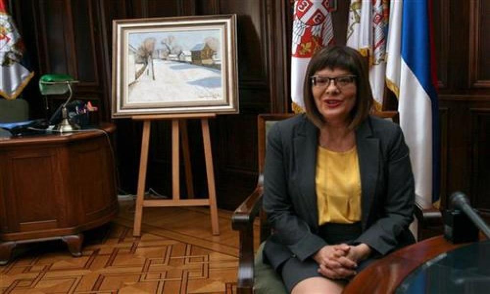 Gojković se sastala sa delegacijom Evropskog parlamenta