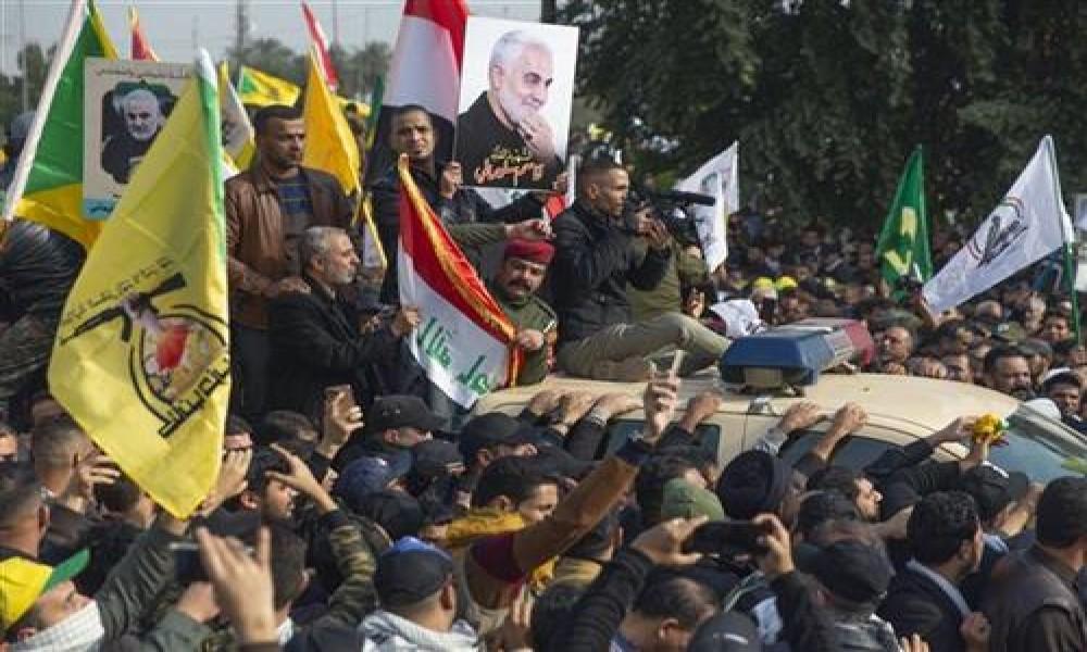 Ispraćaj za Sulejmanija u Bagdadu uz parole  Smrt Americi