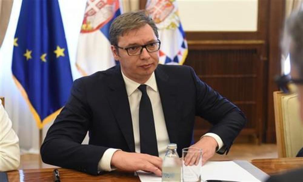 Predsednik Vučić čestitao Dan Evrope zvaničnicima EU