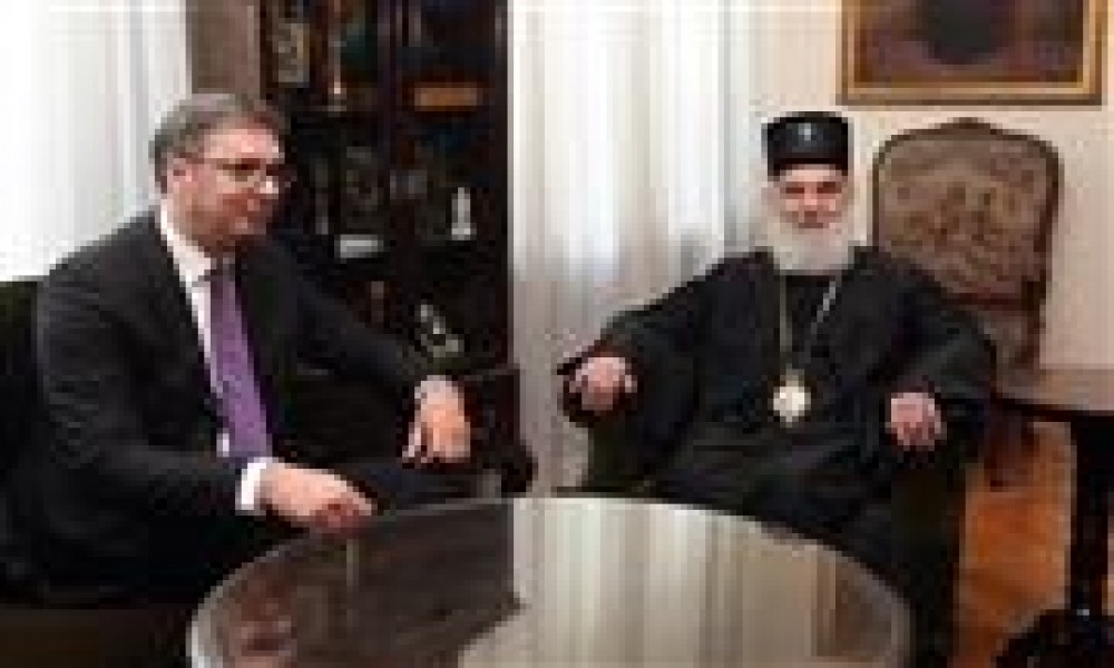 Vučić i patrijarh zabrinuti zbog hapšenja, pozivaju na mir