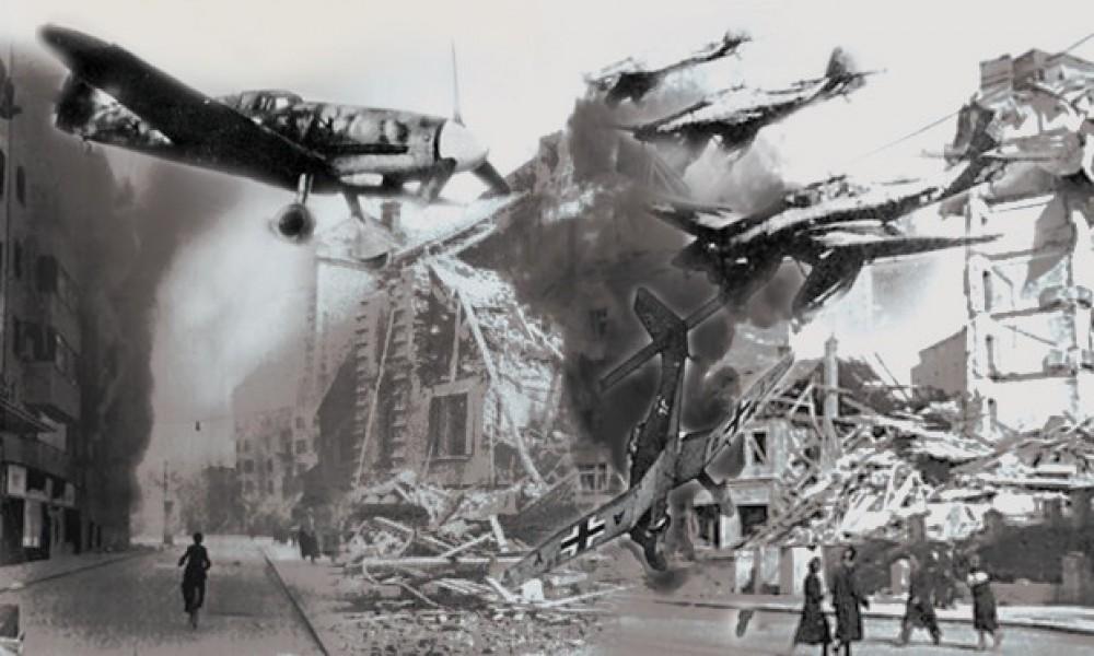 Dan kad je Beograd bio plamteća buktinja jedan jugoslovenski pilot išao je na deset nemačkih