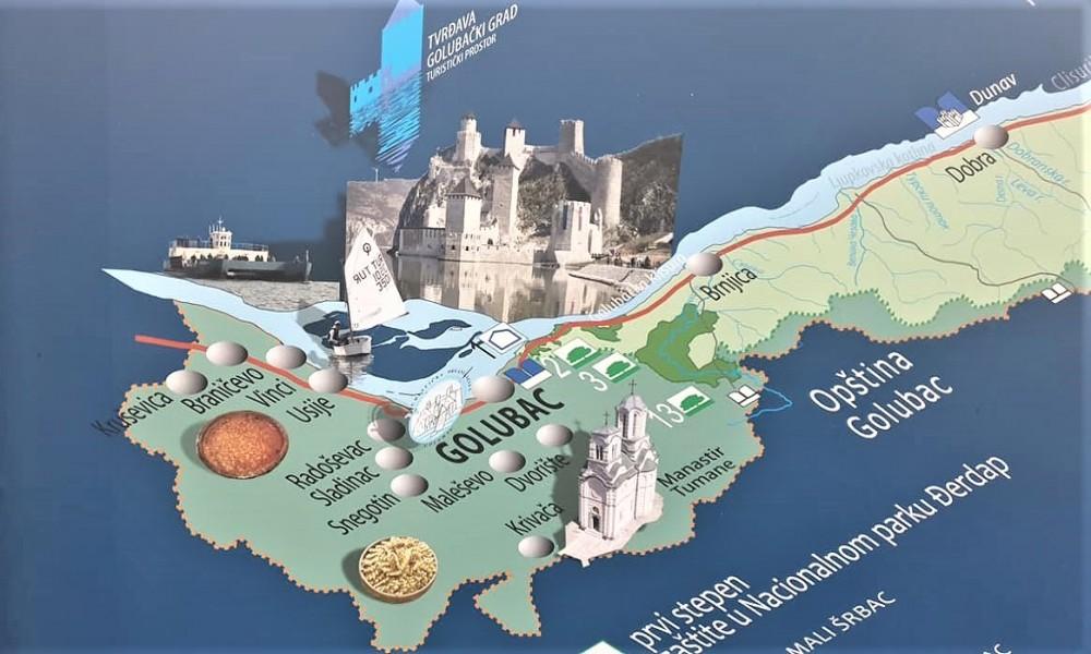 Opština Golubac sa novim kapitalnim  projektima upotpunjuje turističku ponudu