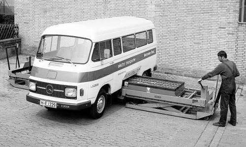 Kako je izgledao prvi Mercedesov van na struju