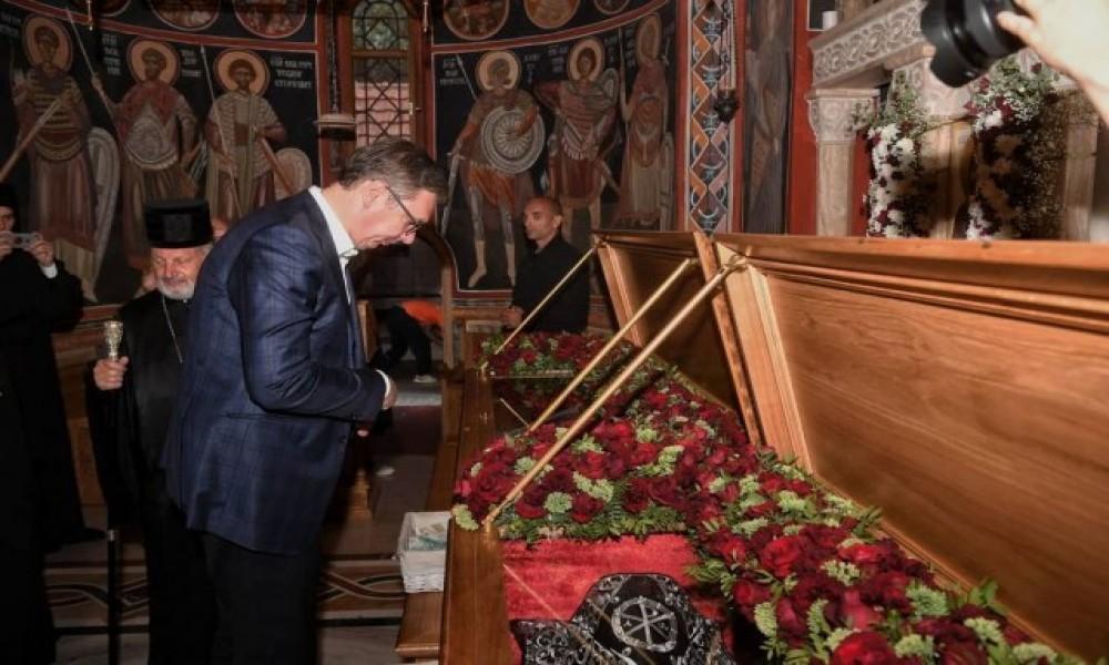 Vučić posetio manastir Tumane