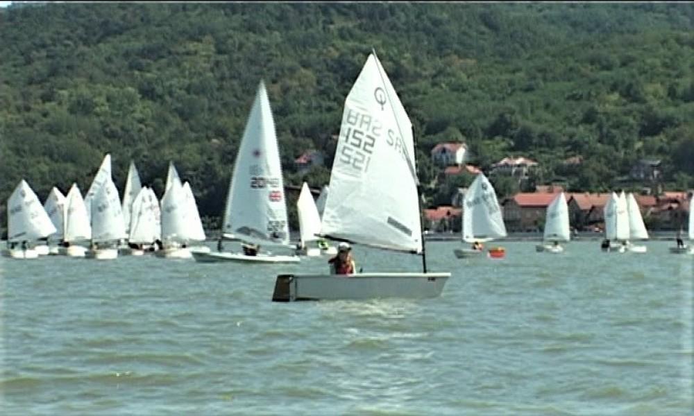 U Golupcu održano državno prvenstvo Srbije I Kup Golubački grad u jedrenju na vodi