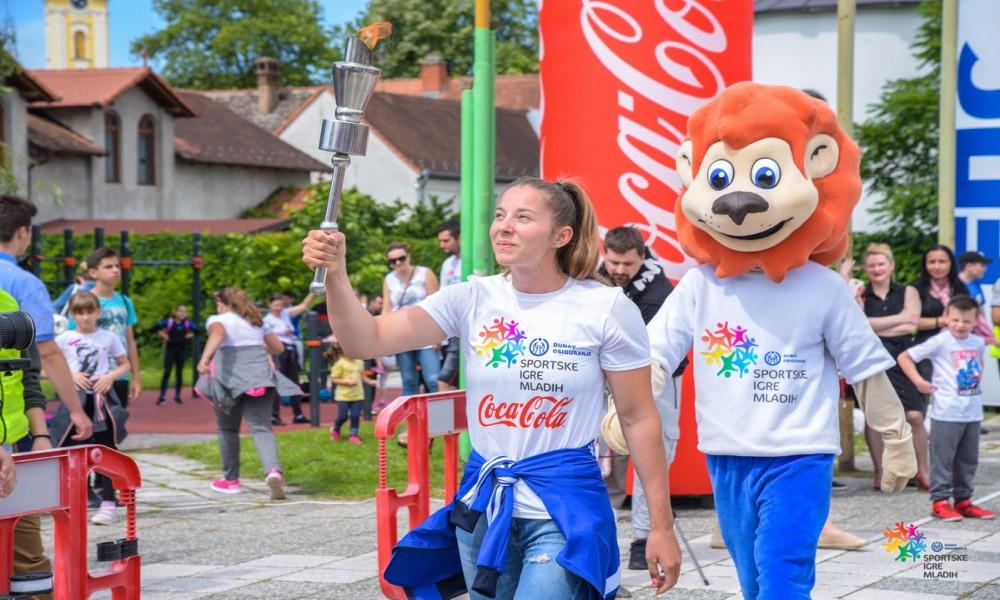 Deca sportisti uživaju uz Igre mladih