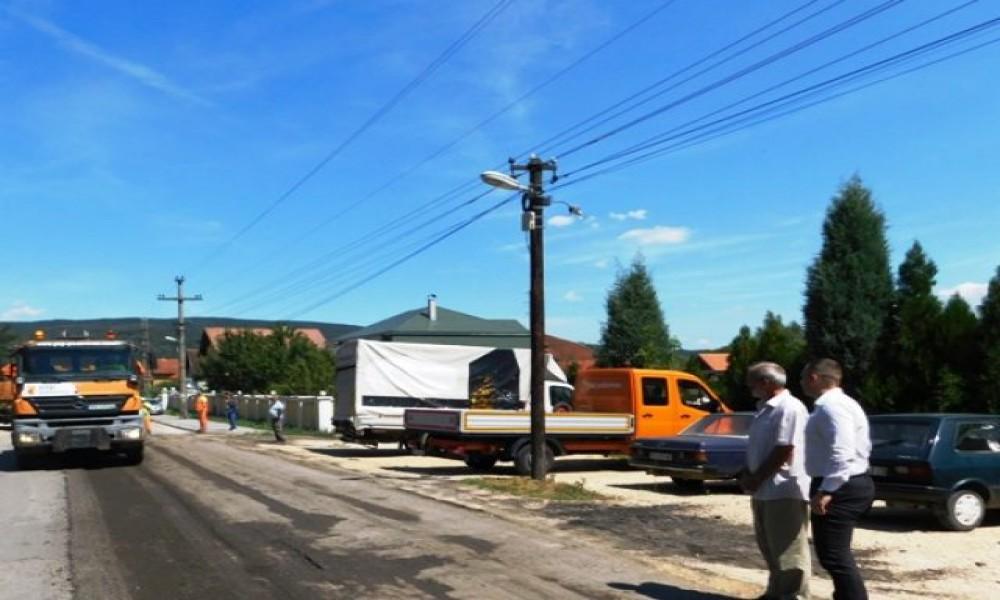 Radovi na rekonstrukciji ulice  Braće Ivković u Kučevu