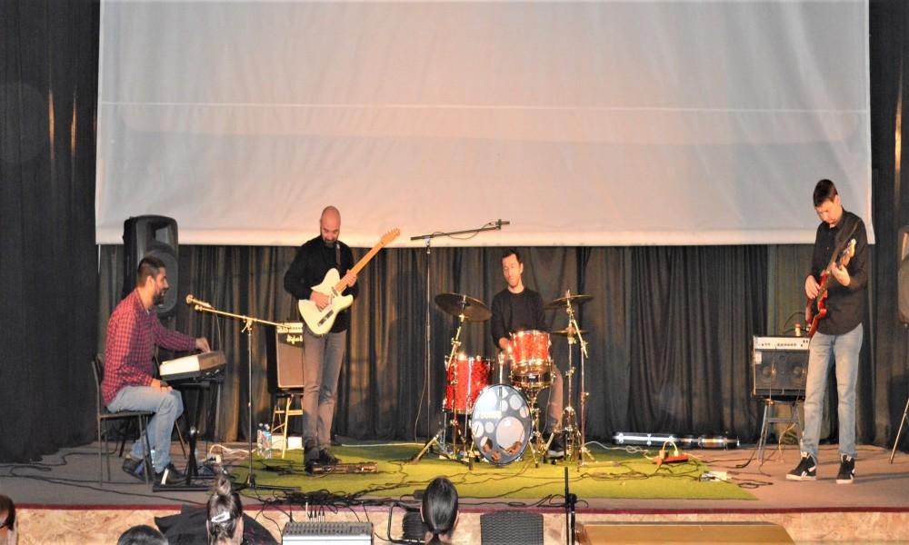 U Golupcu  održan koncert Niškog sastava EYOT u okviru koncertne serije Džez istoka