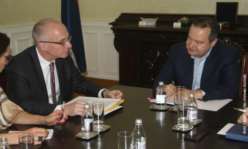 Dačić i Šib o situaciji na KiM i evrointegracijama
