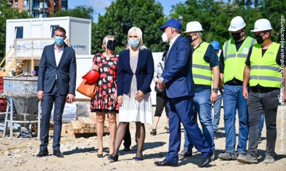 Gradnja 1.000 stanova za ripadnike službi bezbednosti u Beogradu biće gotova 2022. godine