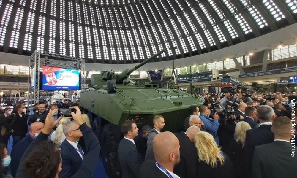 Otvoren sajam naoružanja Partner 2021, predstavljeno borbeno vozilo lazanski