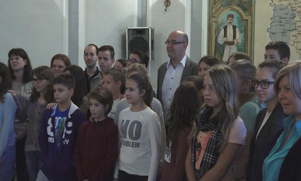 Prijem učenika iz Slovenije u Požarevcu