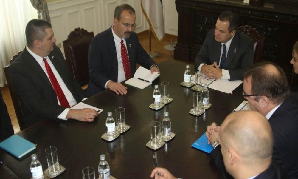 Dačić: Dobar razgovor sa Zarzeckim, neće biti sankcija SAD
