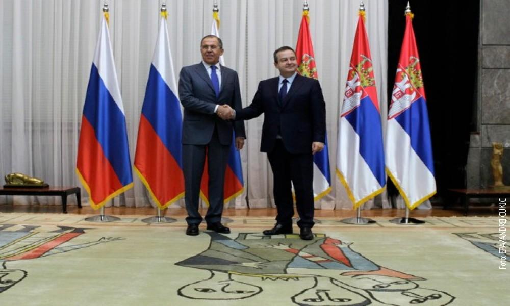 Lavrov čestitao Dačiću Dan državnosti