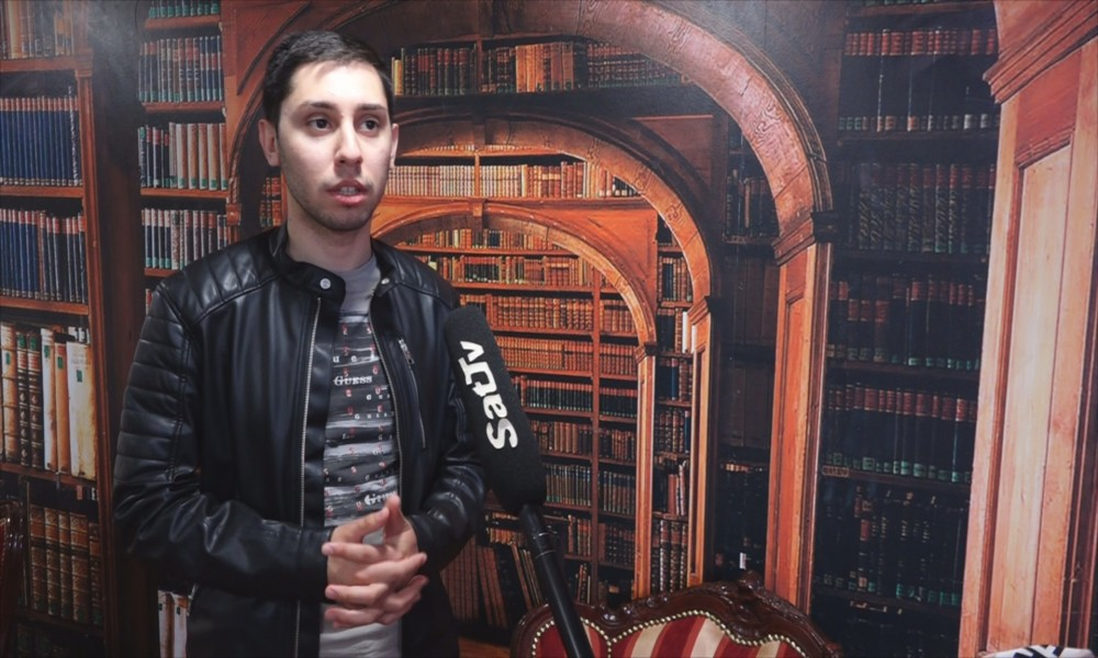 Mihajlo Jovanović, autor podkasta Mladi za mlade