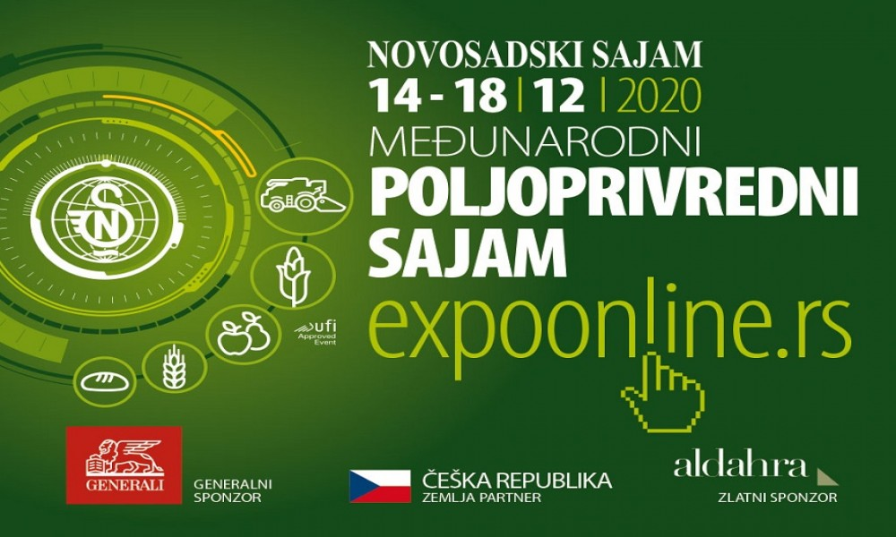 Međunarodni poljoprivredni sajam ove godine  online, od 14. do 18. novembra
