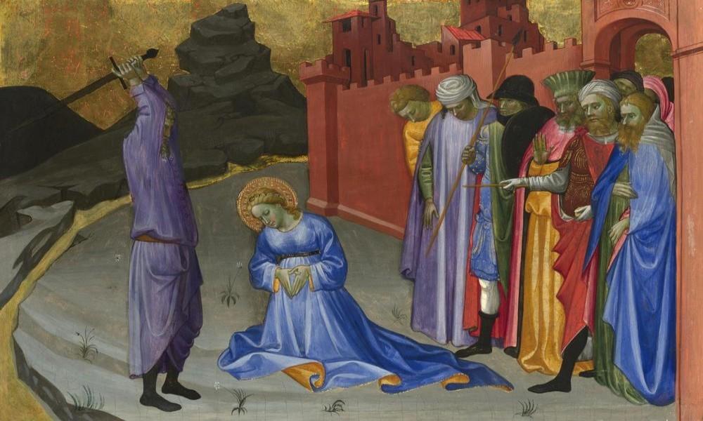 SPC I VERNICI SLAVE VELIKOMUČENICU MARINU, OGNJENU MARIJU