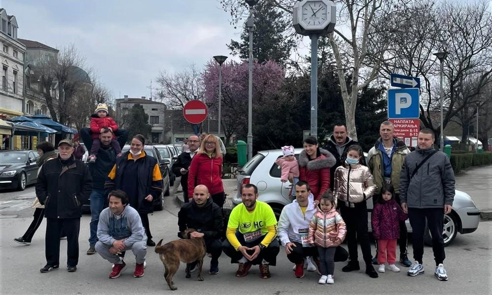 Gradištanci uspešno završili humanitarnu trku za lečenje malog Gavrila Đurđevića iz Kragujevca