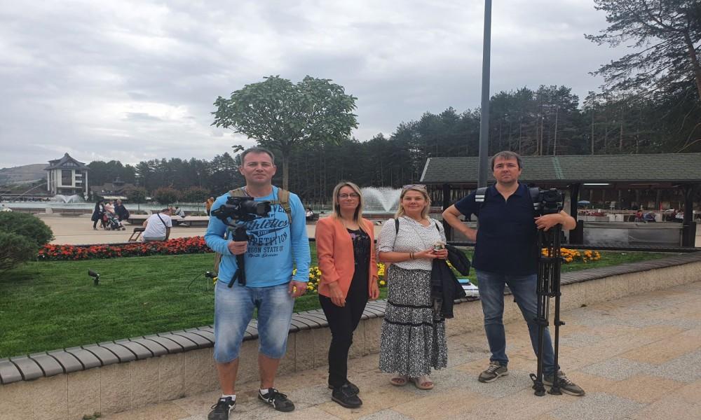 """Na Zlatiboru boravila ekipa """"Prvog kanala"""" ruske nacionalne televizije"""