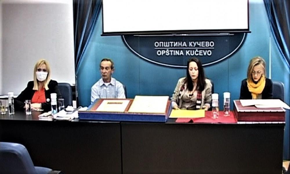 U Kučevu predstavljena jedinstvena knjiga Petra Anđelkovića Zlatno runo u dolini Peka
