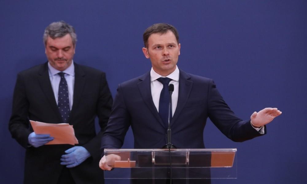 MINISTAR FINANSIJA PREDSTAVIO PAKET EKONOMSKIH MERA ZA POMOĆ PRIVREDI