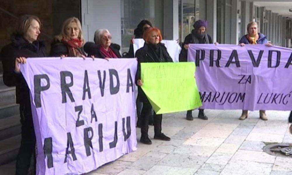 Skupovi podrške Mariji Lukić pred suđenje Milutinu Jeličiću Jutki
