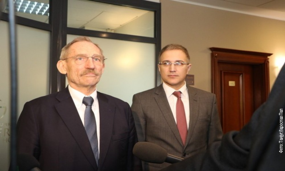 MINISTAR STEFANOVIĆ I PINTER O BORBI PROTIV KRIMINALA