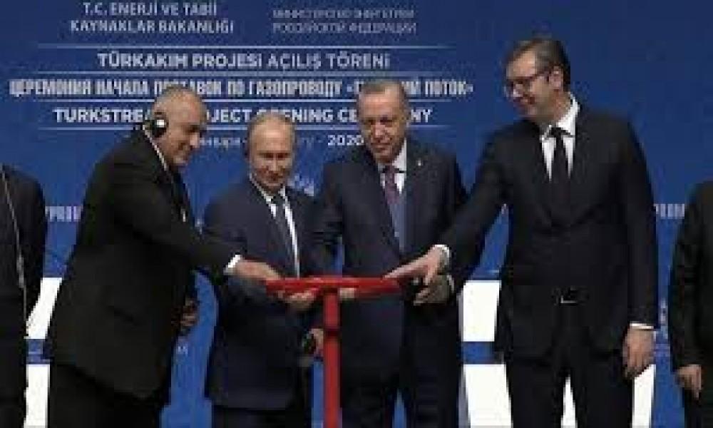 PUŠTENA U RAD DEONICA TURSKOG TOKA GAS ZA MILIONE DOMOVA