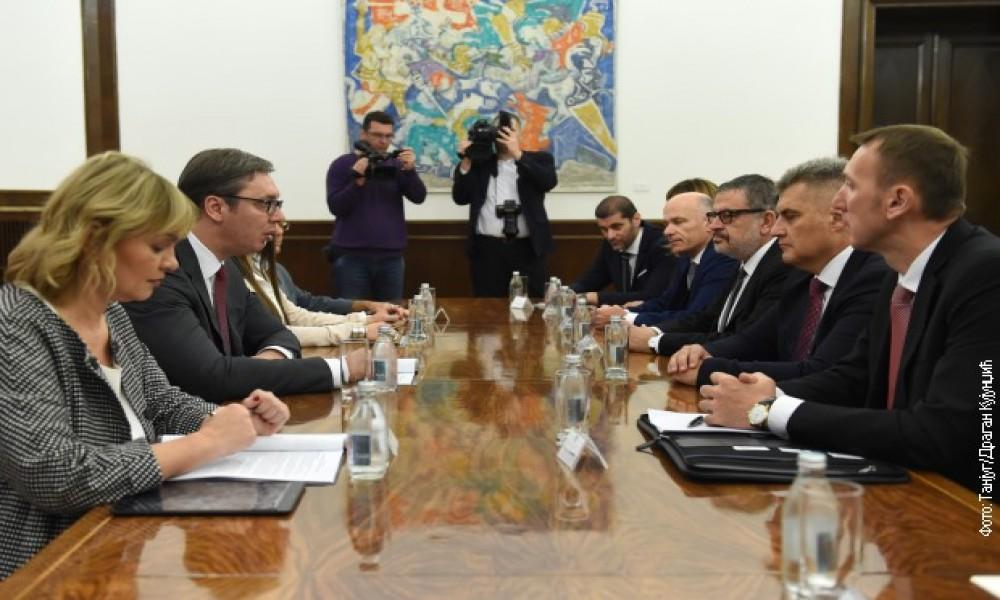 Vučić i Brajović o odnosima Srbije i Crne Gore