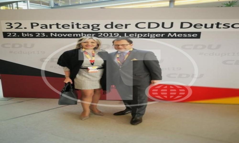 J. Joksimović učestvovala na kongresu CDU u Lajpcigu