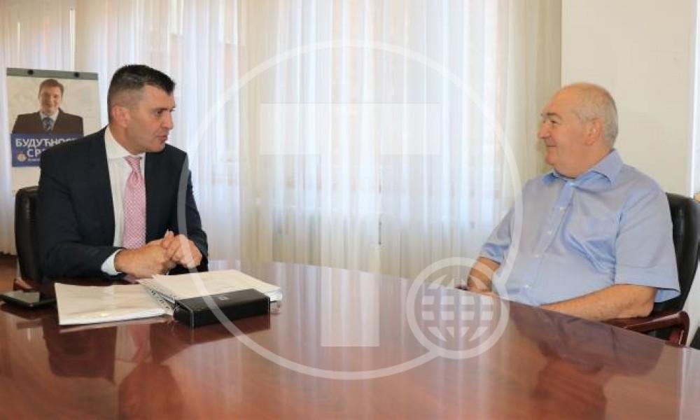 Đorđević sa Orbovićem o minimalnoj ceni rada