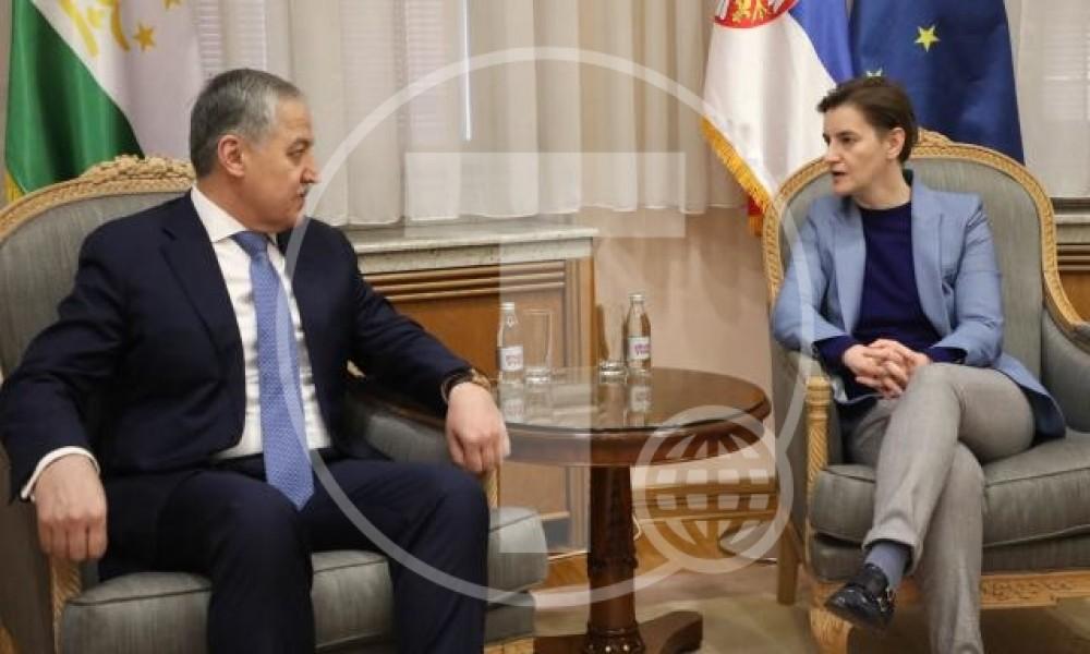 Srbija želi intenziviranje odnosa sa Tadžikistanom