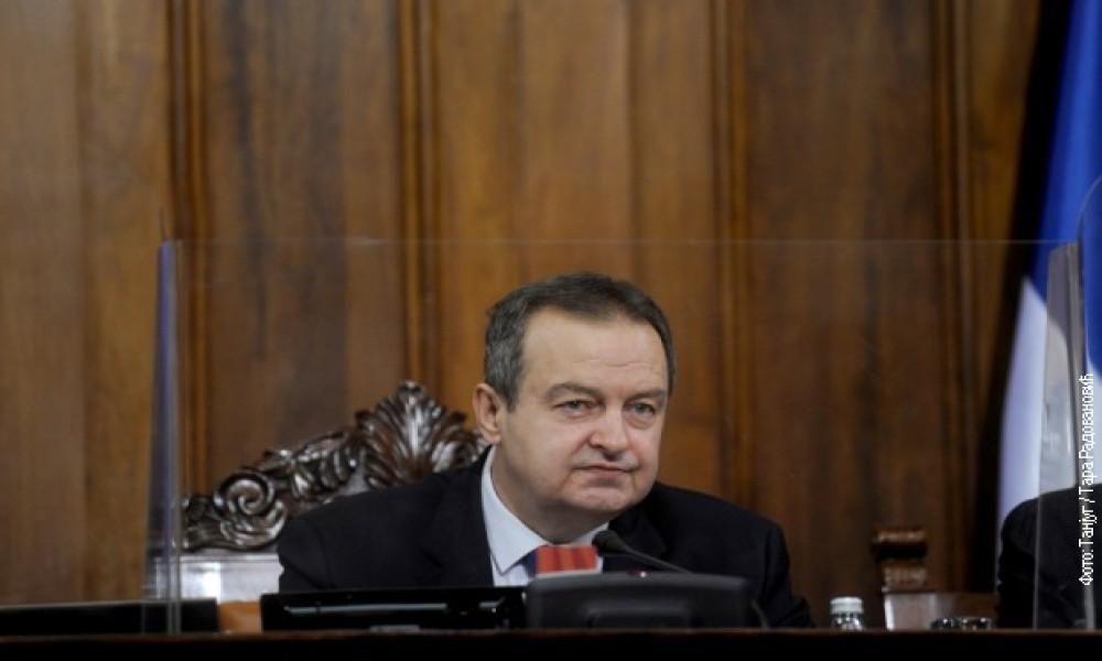 Dačić: Međustranački dijalog početkom sledeće godine, prelazna vlada nije tema