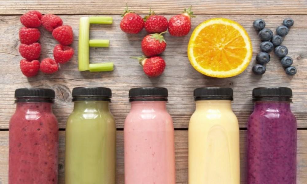 Nutricionistički plan čišćenja organizma: 7 DETOKS DANA